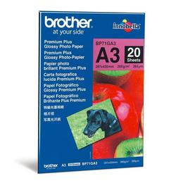 Brother Premium Plus Glossy Foto Papier - A3 (20 vel)