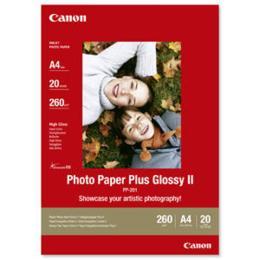 Canon Fotopapier Glossy A4 20 vel PP-201